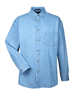 demin shirt-lt blue-8960