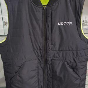 reversable vest-black