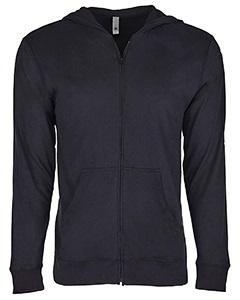 suede hoodie-black